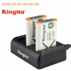 Kingma แท่นชาร์จสามช่อง Sony Rx100 NP-BX1