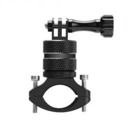Bicycle Aluminum Handlebar Bar Clamp Mount Bracket Adaptor for Gopro Camera