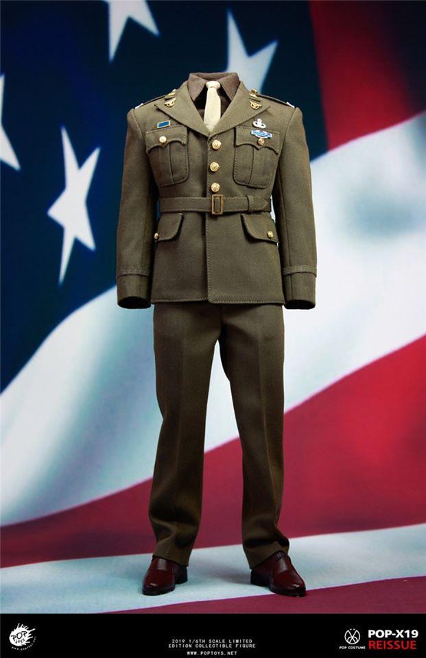 POPTOYS 1//6 X19 Golden Age Captain Uniform Suits New
