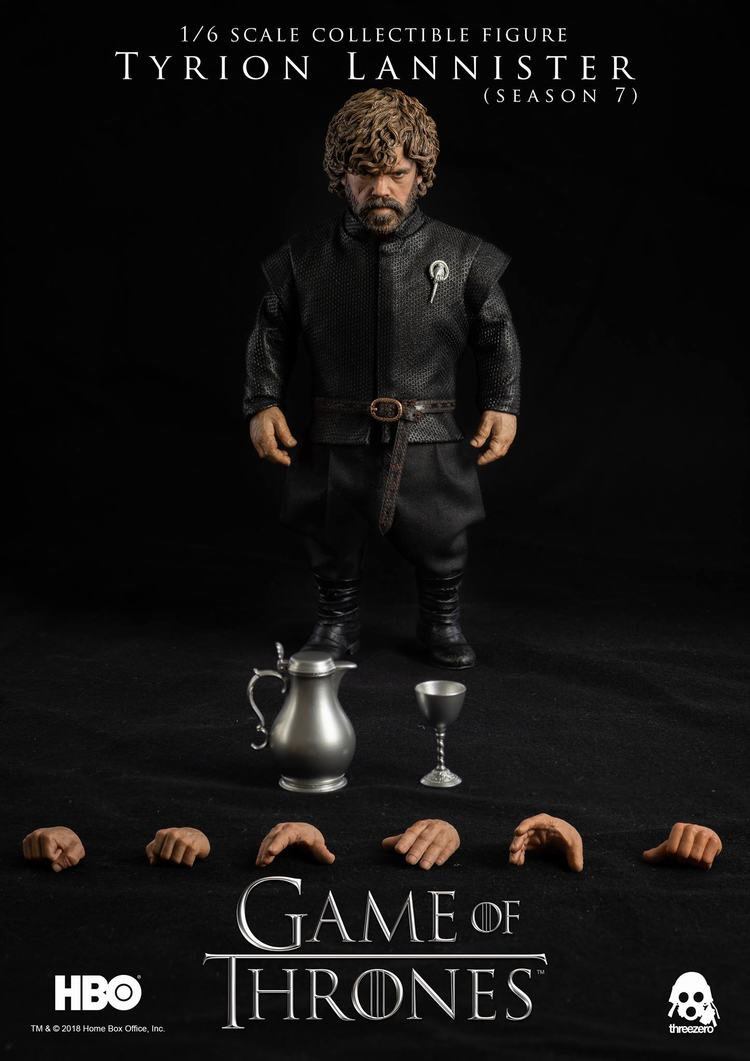 Threezero HBO Game of Thrones GOT Tyrion Lannister Season 7 Standard Version 1//6