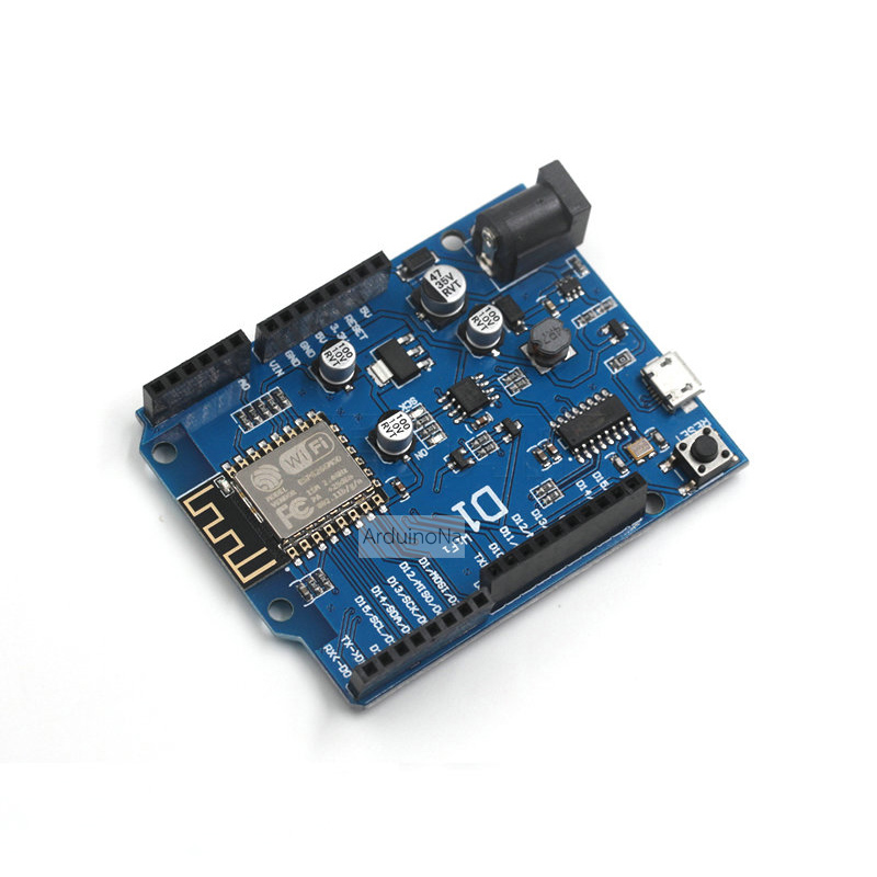 WIFI Development Board ESP-12E Based ESP8266 Shield for Arduino UNO WeMos D1 A