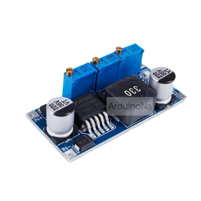LM2596 CC//CV 3A Battery Charger Step-down Adjustable DC Power Regulator Module